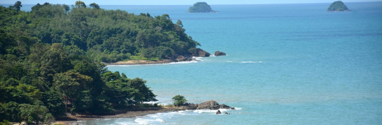 Blick auf Ko Chang vom Sea Viewpoint